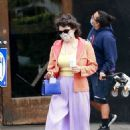 Alia Shawkat – out on an afternoon coffee run in Los Feliz