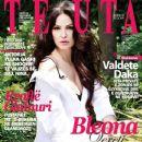 Bleona Qereti, Bleona - TEUTA Magazine Cover [Albania] (June 2013)