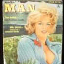 Marli on cover of MAN magazine, 1961 - 198 x 251