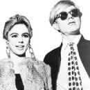 Eddie Sedgewick and Andy Warhol - 454 x 567