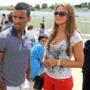 Luis Nani and Daniela Martins - 454 x 341