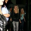 Fergie at Mr.Chow's in Beverly Hills, CA on July 13, 2012