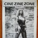Sybil Danning - Cine Zine Zone Magazine Cover [France] (August 1989)