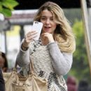Emily Sears Out and About In La