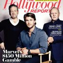 Kenneth Branagh, Chris Hemsworth, Anthony Hopkins - The Hollywood Reporter Magazine Cover [United States] (22 April 2011)