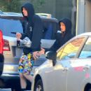 Ariana Grande and Pete Davidson – Leaves their apartment in Chelsea