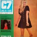 Victoria Vetri - Cine en 7 dias Magazine Cover [Spain] (22 February 1969)