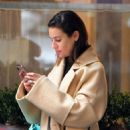 Lea Michele – Pictured in New York City with a friend