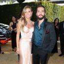 Tom Kaulitz and Heidi Klum : 70th Emmy Awards - 400 x 600
