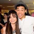 Anna Maria De Tangle and Roshon Fegan