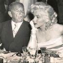 Marilyn Monroe and Joseph M. Schenck