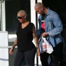 Amber Rose out and about in Miami