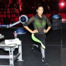 Shay Mitchell hit the SoFit gym at the Sofitel in Los Angeles - 454 x 346