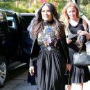 Salma Hayek – Leaving a Pre-Oscars Event in Beverly Hills