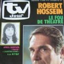 Robert Hossein - TV Jour Magazine Cover [France] (13 November 1985)
