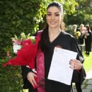 Ivi Adamou- university graduation ceremony