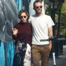 Emilia Clarke and Charlie McDowell – Shopping in Venice Beach