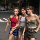 Julia Garro as young Diane, Melonie Diaz as young Laurie and Eleonore Hendricks as Jenny in A Guide to Recognizing Your Saints, written and directed by Dito Montiel. Photo by Walter Thomson.
