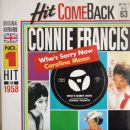 Connie Francis - Who's Sorry Now / Carolina Moon