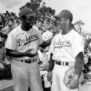 Jackie Robinson & Roy Campanella
