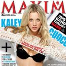 Kaley Cuoco Covers Maxim Australia July 2012