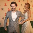Juanes and Karen Martinez- Latin Grammy Awards 2014
