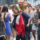 'Kids in Love' cast enjoying Notting Hill Carnival