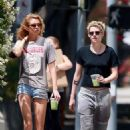 Kristen Stewart and Stella Maxwell – Out in Los Angeles