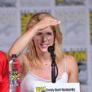 Emily Bett Rickards-   Comic-Con International 2018 - 'Arrow' Special Video Presentation And Q&A - 454 x 544