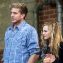 Holly Hunter and Kenny Johnson