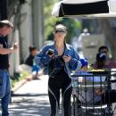 Cara Santana – Leaving a dermatology appointment in West Hollywood