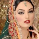 Model and Actress Sadia Khan Bridal photo shoots
