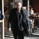 Al Pacino spotted out for lunch at Nate 'N Al's in Beverly Hills, California on December 13, 2014 - 385 x 594