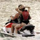 Miley Cyrus and Patrick Schwarzenegger Jet Skiing In Miami