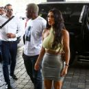 Kim Kardashian at the Faena House condo in Miami - 454 x 681