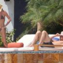 Making the most of the NFL off season: Gisele Bundchen and her husband Tom Brady enjoy rest and relaxation in Mexico