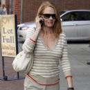 Marg Helgenberger Leaves A Medical Building Beverly Hills , 2009-06-08