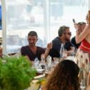 Lindsay Lohan– Out in Mykonos, Greece, 7/5/2016 - 454 x 301