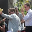 Will Ferrell and Zach Galifianakis promoting their new film