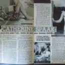Catherine Spaak - Cine Tele Revue Magazine Pictorial [France] (3 February 1966) - 454 x 291