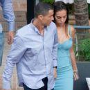 Georgina Rodriguez and Cristiano Ronaldo out in Malaga