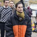Charlotte Riley – Filming 'Press' set in London - 454 x 664