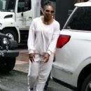 Serena Williams – Heads out for practise session in New York City - 454 x 568