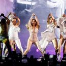 Jennifer Lopez – Celebrate Her 50th Birthday on Stage in Moscow