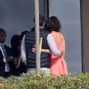 Paula Patton and the publicist: Robin Thicke's estranged wife gets cosy with right hand man on risque photoshoot