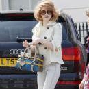 Nicola Roberts Arriving At A Studio In Primrose Hill In London, 12 April 2010