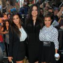 "Kim, Kourtney & Khloe Kardashian Say ""Good Morning America"""