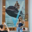 Gigi Hadid at V Magazine offices in New York