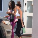 Sarah Hyland – Hits the gym in Los Angeles