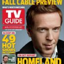 Damian Lewis, Homeland - TV Guide Magazine Cover [United States] (30 September 2013)